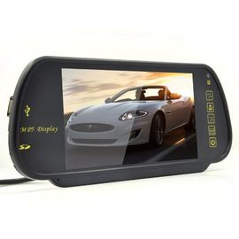Cina 7 Inch TFT Rear View Mirror Screen, Mobil Reverse Camera Contrast Ratio 350/1 pabrik