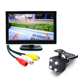 5 Inch Car Rear View Monitor Night Vision 12.5cm * 16.8cm * 14cm Dimension