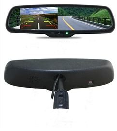 Cina Auto Dimming Car Rear View Mirror Monitor 8 Bahasa OSD Control EV-432RV-01 pabrik