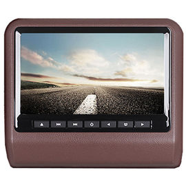 9 Inch TFT LED Car Pillow Monitor ABS Bahan Type 500/1 Contrast Ratio